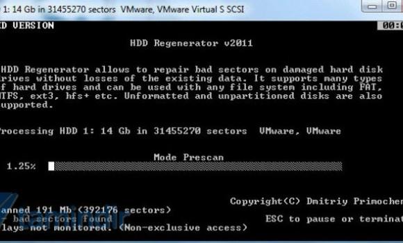 HDD Regenerator Ekran Görüntüleri - 1