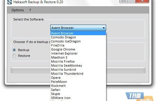 Hekasoft Backup & Restore Ekran Görüntüleri - 4