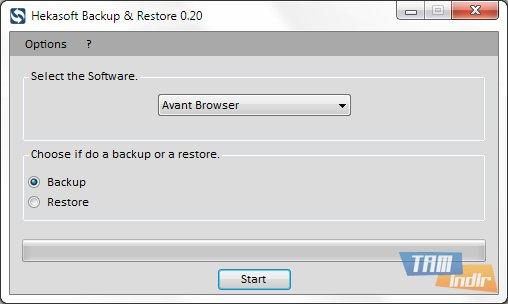 Hekasoft Backup & Restore Ekran Görüntüleri - 3