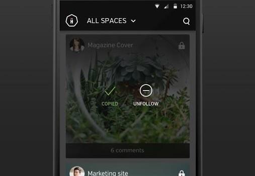 Hightail Spaces İndir - Android İçin Ortak Dosya Çalışması