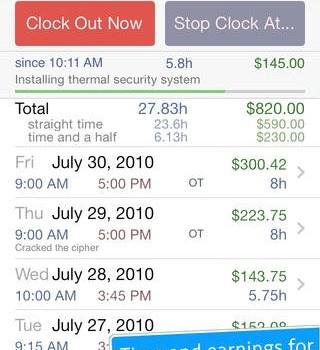 HoursTracker Ekran Görüntüleri - 5