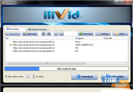 ilivid Download Manager Ekran Görüntüleri - 2