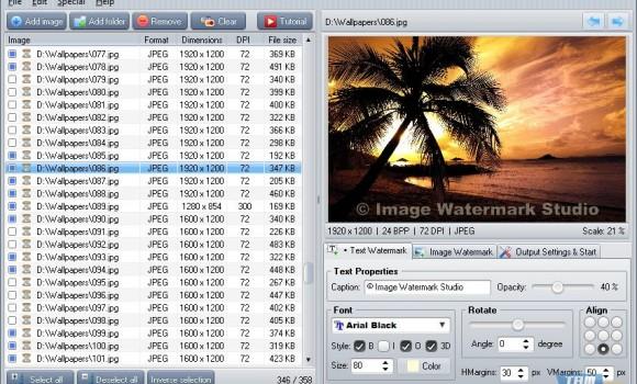 Image Watermark Studio Ekran Görüntüleri - 3