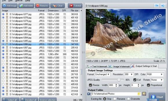 Image Watermark Studio Ekran Görüntüleri - 1