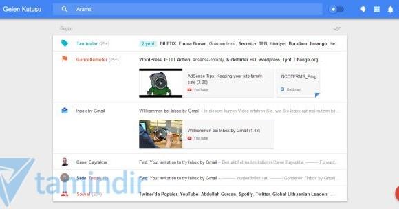 Inbox Ekran Görüntüleri - 1