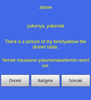 İngilizce Kelime Ezberle Ekran Görüntüleri - 2