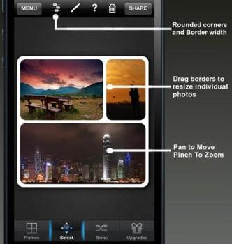 Insta Picframes Ekran Görüntüleri - 1