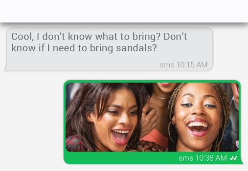 invi SMS Messenger Ekran Görüntüleri - 2
