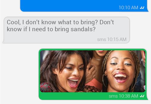 invi SMS Messenger Ekran Görüntüleri - 5