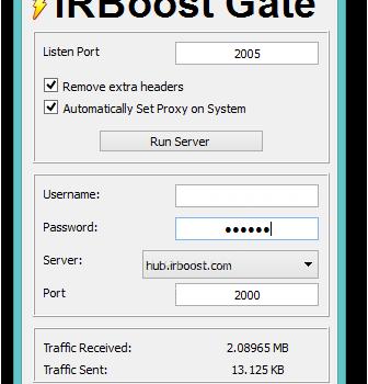 IRBoost Gate Ekran Görüntüleri - 1