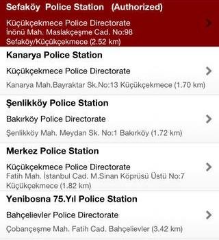Istanbul Police Ekran Görüntüleri - 2