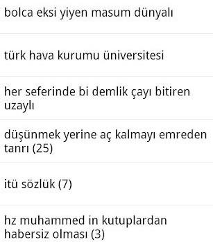 İTÜ Sözlük Mobil Ekran Görüntüleri - 1