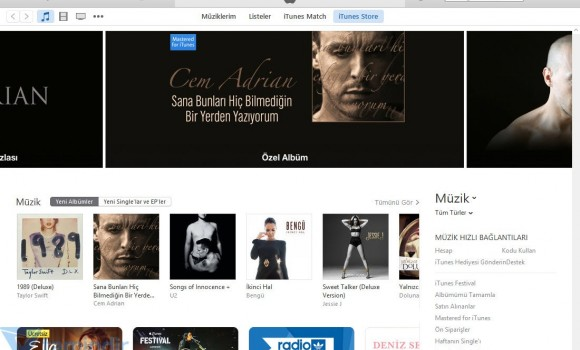iTunes Ekran Görüntüleri - 1