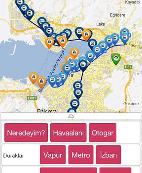 İzmir Ulaşım Ekran Görüntüleri - 3