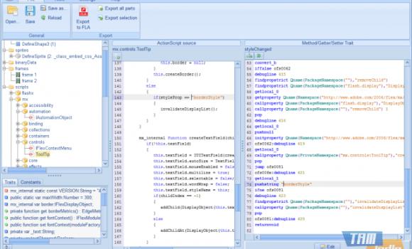 JPEXS Free Flash Decompiler Ekran Görüntüleri - 1
