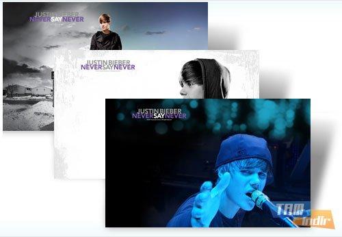 Justin Bieber  Windows 7 Teması Ekran Görüntüleri - 1