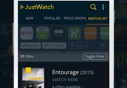 JustWatch Ekran Görüntüleri - 1