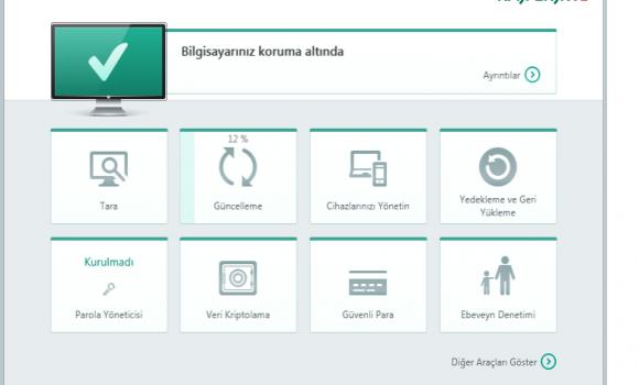 Kaspersky Total Security Ekran Görüntüleri - 1