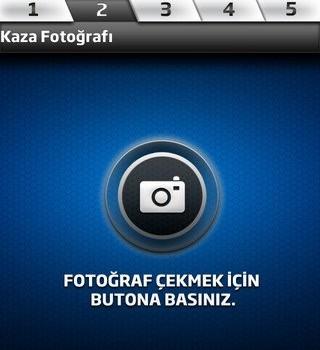 Kaza Tespit Tutanağı Uygulaması Ekran Görüntüleri - 1