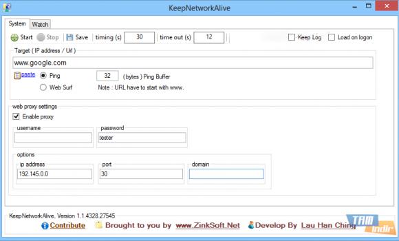 KeepNetworkAlive Ekran Görüntüleri - 2