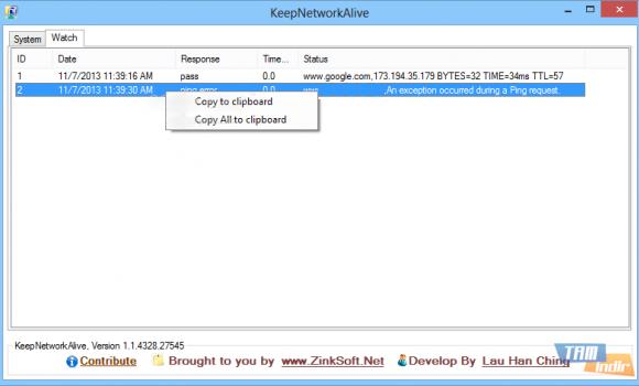 KeepNetworkAlive Ekran Görüntüleri - 1