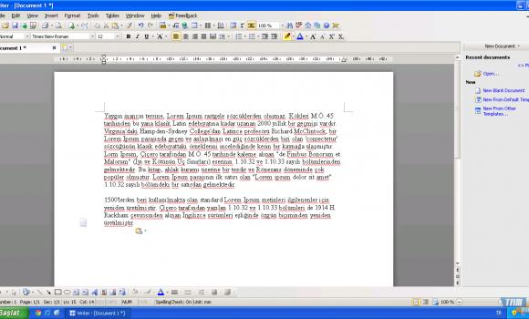 Kingsoft Office Suite Free  Ekran Görüntüleri - 2