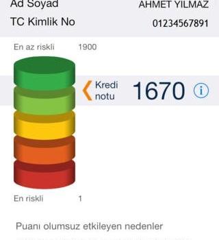 KKB Mobil (Findeks) Ekran Görüntüleri - 5