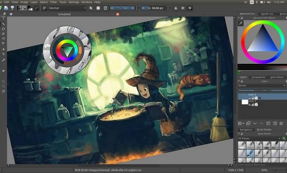 Krita Studio Ekran Görüntüleri - 4