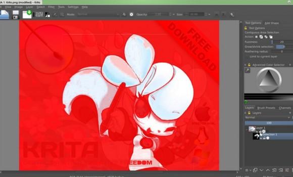Krita Studio Ekran Görüntüleri - 1