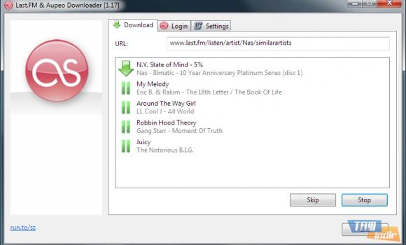 Last.FM Downloader Ekran Görüntüleri - 2