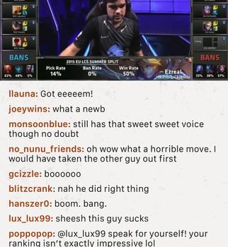 League Chat Ekran Görüntüleri - 1