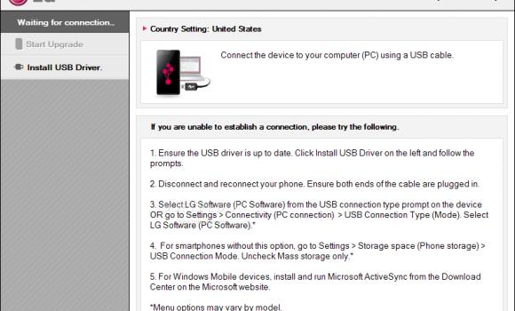 LG Mobile Support Tool Ekran Görüntüleri - 2