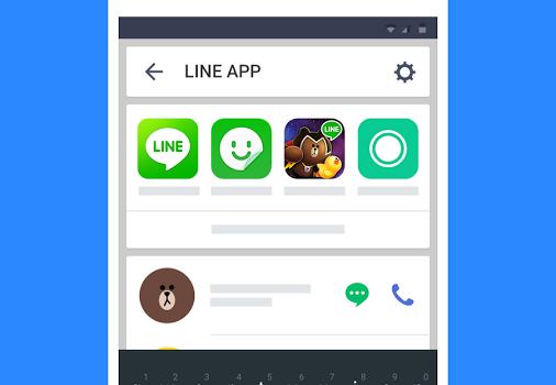 LINE Launcher Ekran Görüntüleri - 1