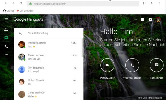 Liri Browser Ekran Görüntüleri - 2
