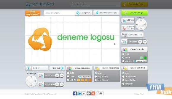 Logotype Creator Ekran Görüntüleri - 1