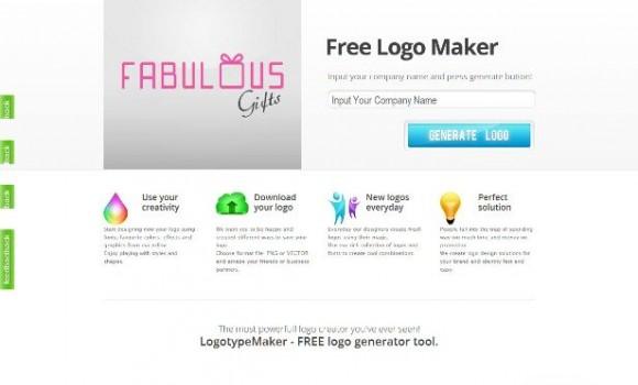 LogotypeMaker Ekran Görüntüleri - 1