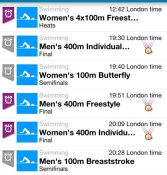 London 2012: Official Results Ekran Görüntüleri - 1