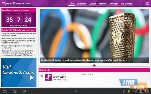 London 2012 Results App Ekran Görüntüleri - 2