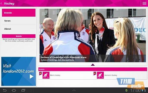 London 2012 Results App Ekran Görüntüleri - 3