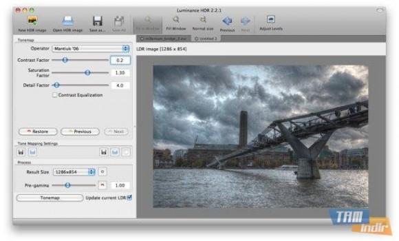 Luminance HDR Ekran Görüntüleri - 4