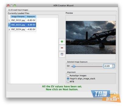 Luminance HDR Ekran Görüntüleri - 3