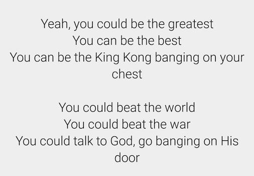 Lyrics Finder Ekran Görüntüleri - 1