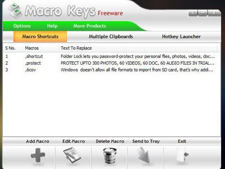 Macro Keys Ekran Görüntüleri - 3