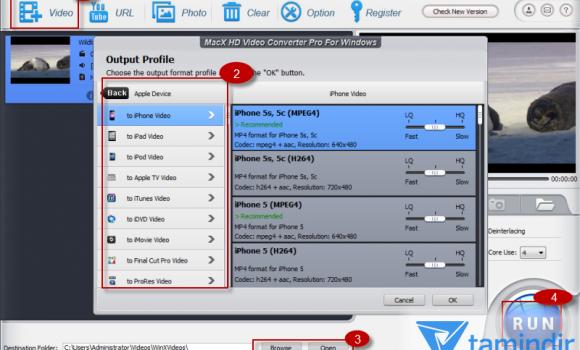 MacX HD Video Converter Pro Ekran Görüntüleri - 3