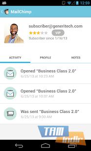MailChimp for Android Ekran Görüntüleri - 3
