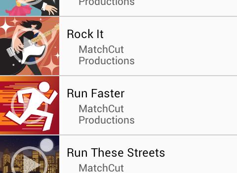 MatchCut Music Video Editor Ekran Görüntüleri - 1