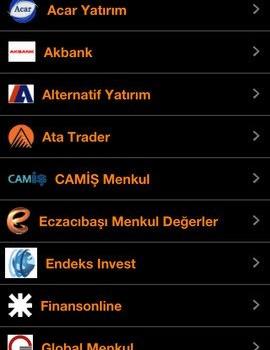 Matriks Mobil Finans Ekran Görüntüleri - 3
