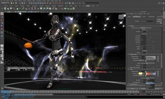Maya Ekran Görüntüleri - 2