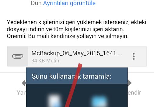 MCBackup Ekran Görüntüleri - 4