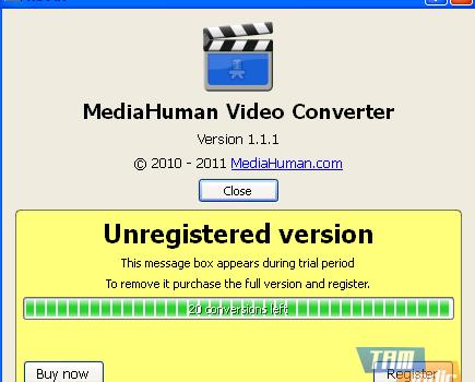 MediaHuman Video Converter Ekran Görüntüleri - 1